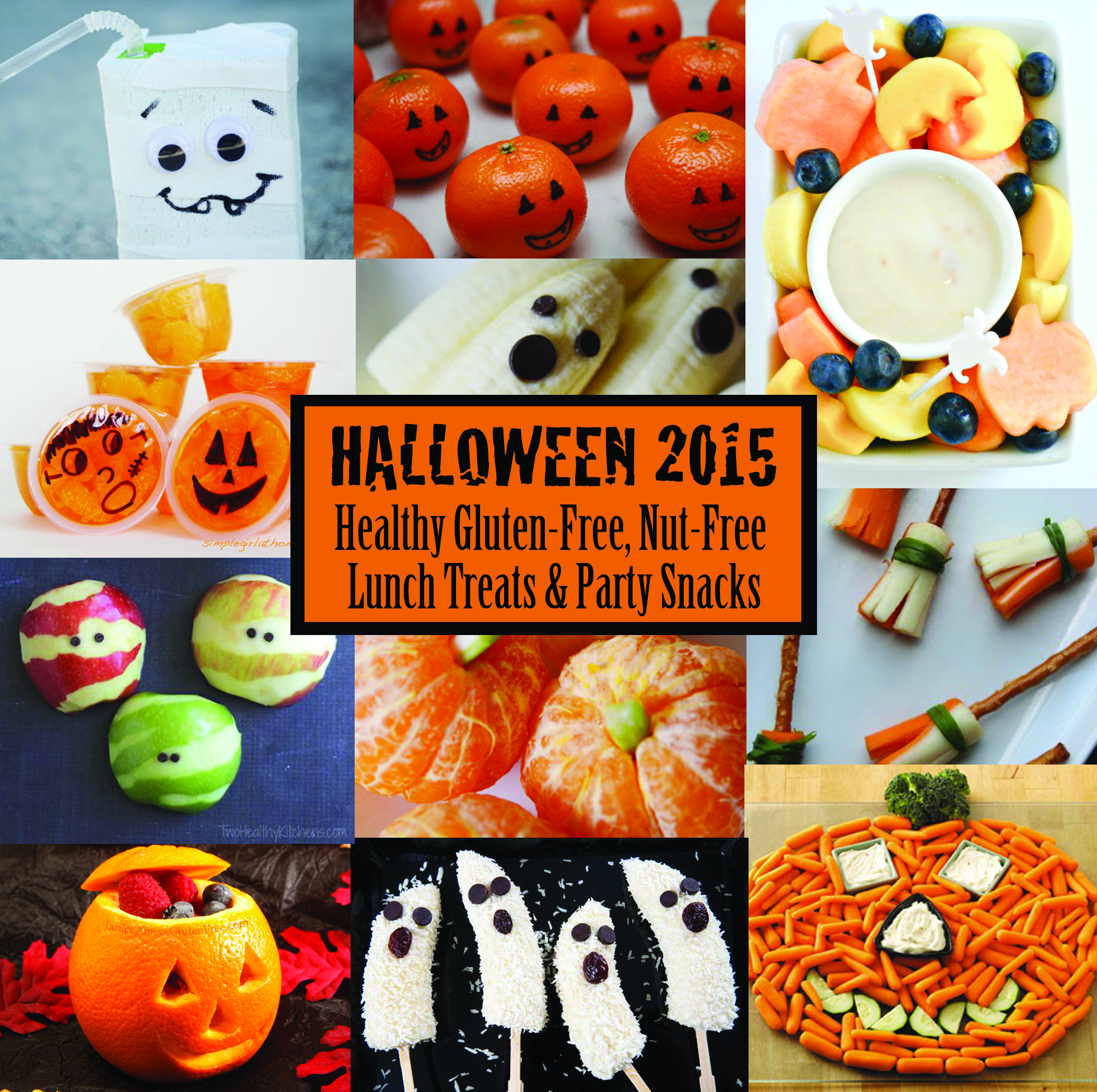 Gluten-Free, Nut-Free Healthy Halloween Treat Roundup | g-free kid
