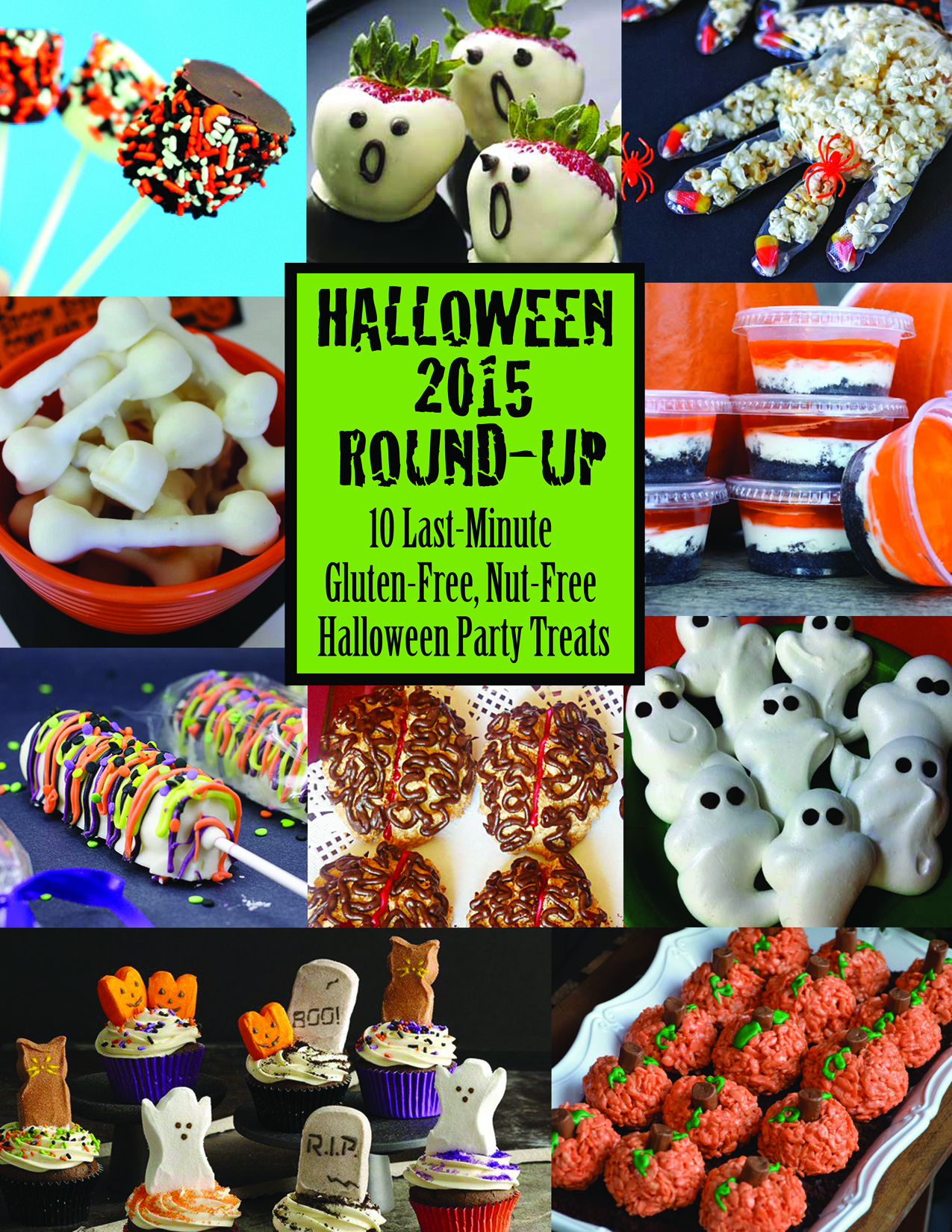 10 Last-Minute, Gluten-Free, Nut-Free Halloween Party Treats | g ...